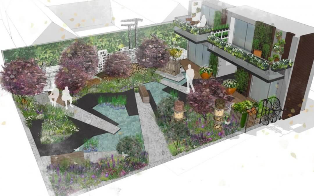 Chelsea Flower Show garden up for grabs in community competition