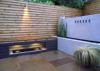 Garden Lighting Design In Manchester.